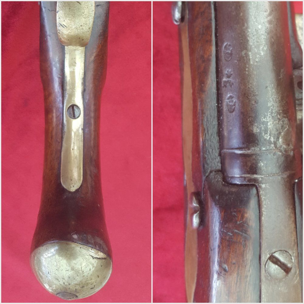X X X SOLD X X X English military style flintlock Naval